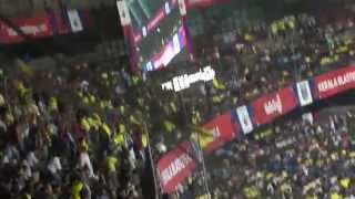 Kerala Blasters - Mexican waves at Kochi stadium