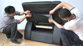 how to install foot massage sofa fb05