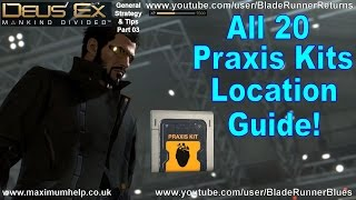 Not only do I show you where they are but I also show you the best way to get to them too Complete  comprehensive walkthrough for all 20 collectable Praxis