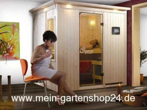 Karibu 68 Mm Plug And Play Saunen 230 V Youtube