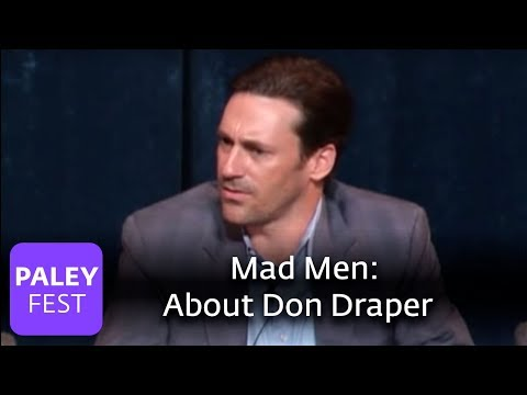 Mad Men - Jon Hamm on Don Draper (Paley Center)