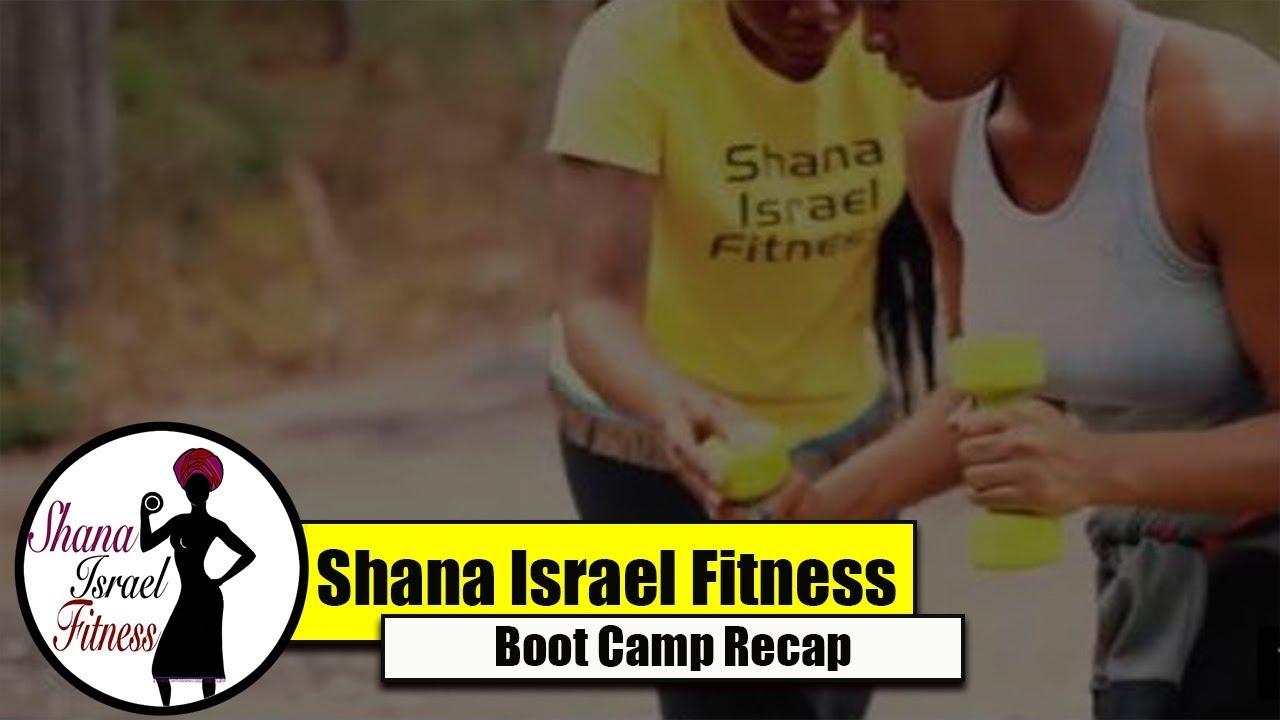 Shana Israel Fitness Boot Camp Recap- October 2017