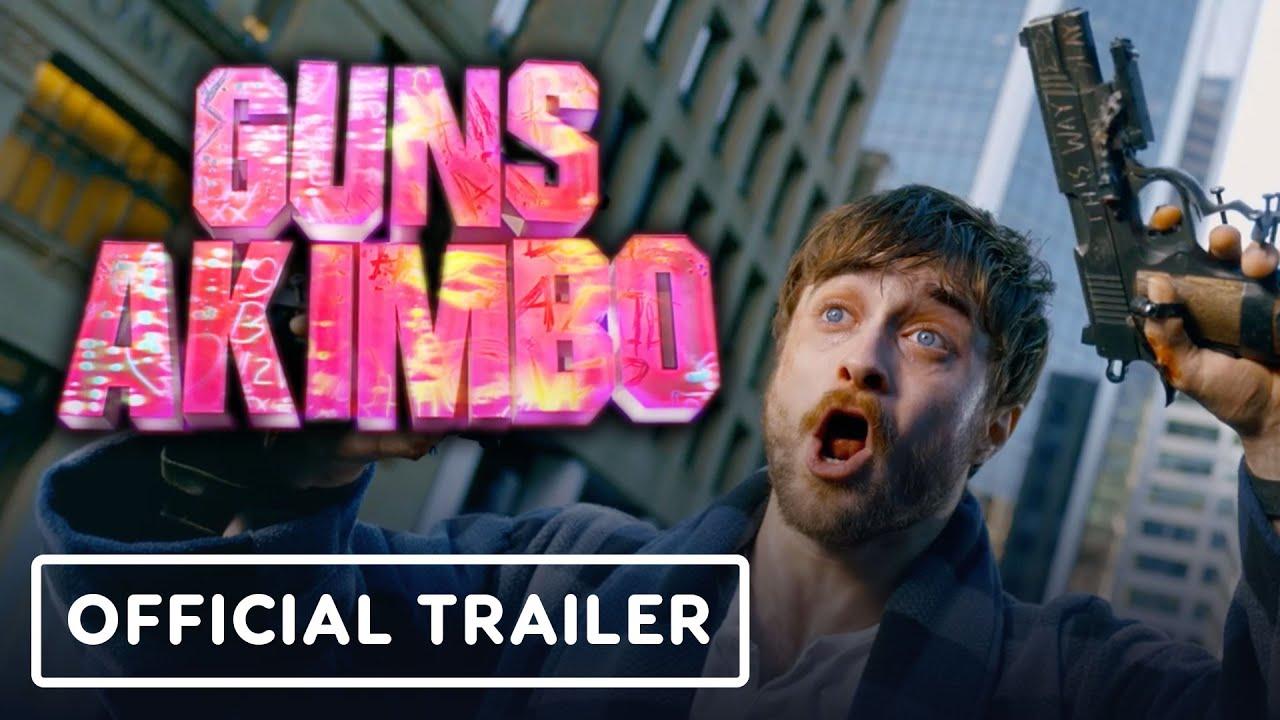 Guns Akimbo - Official Trailer (2020) Daniel Radcliffe