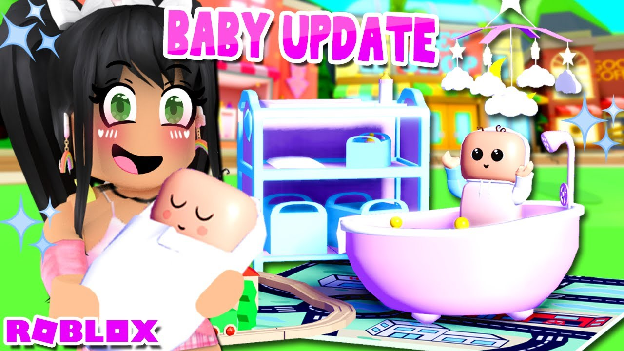 ALL NEW* BABY FURNITURE 👶Club Roblox Roleplay Update - YouTube