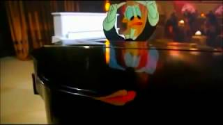 Who Framed Roger Rabbit - Donald Duck & Daffy Duck Dueling Pia…