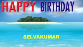 Selvakumar  Card Tarjeta - Happy Birthday