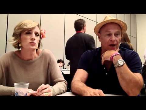Kirsten Nelson & Corbin Bernsen Talk Psych at Comic-Con 2011