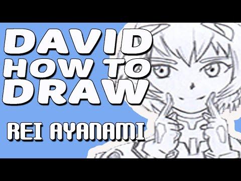 Como Dibujar A Rei Ayanami Chibi| How To Draw Rei Ayanami Chibi |DAVIDHOWTODRAW