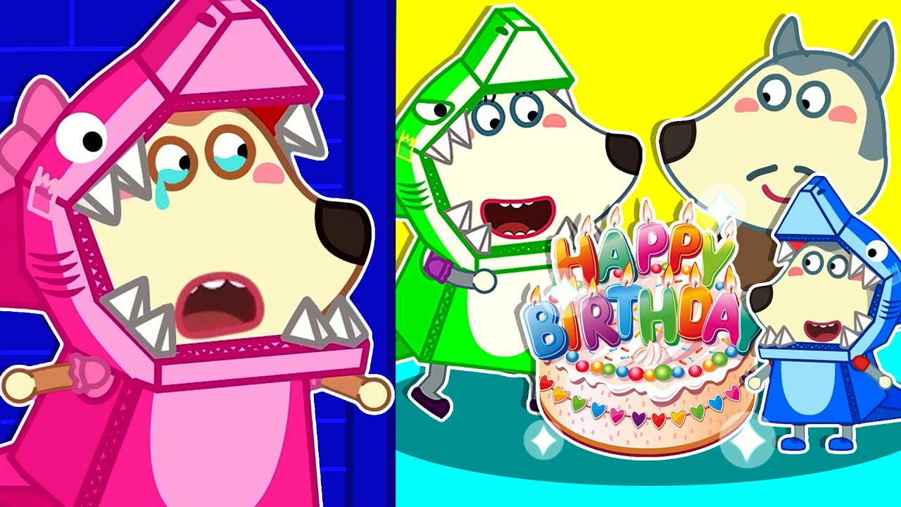 Lycan in Arabic 🌟 Ruby is Jealous of Lycan's DIY Birthday Party | Lycan's Funny Stories For Kids