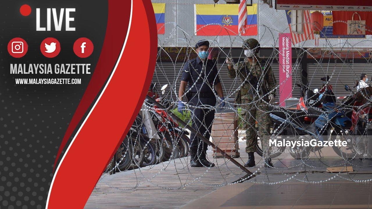 MGTV LIVE : Zon Merah! Flat Selangor Mansion Dikawal Ketat Polis Dan Tentera