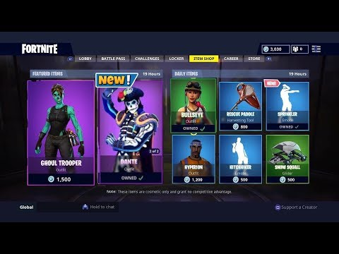 New Fortnite Item Shop Countdown October 29th New Skins