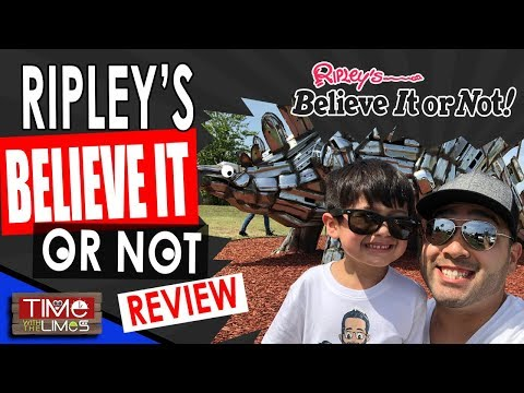 Ripley's Believe it or Not in Grand Prairie Texas Review 2018
