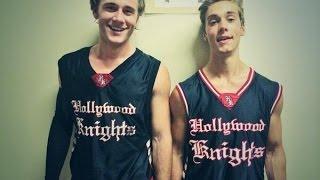 Austin North, Luke Benward & More Play B-Ball!
