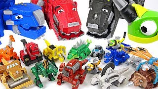Dinotrux have so many tiny friends! 15 mini dinotrux appeared!! - DuDuPopTOY