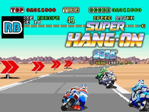 1987 [60fps] Super Hang-On Expert ALL