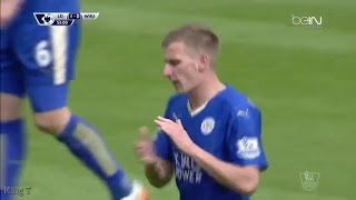 Leicester City vs West Ham United ( 2 - 2 ) Highlights | 17 April 2016 | Premier League