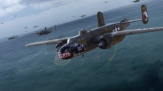 B25 Mitchell Bomber Simulation Battles War Thunder