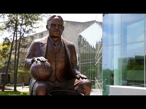 Naismith Statue Unveiled // Kansas Basketball // 4.22.16