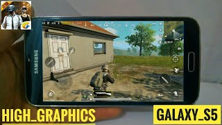 PUBG MOBILE BY LIGHTSPEED HIGH GRAPHICS HANDS ON REVIEW ON GALAXY S5!