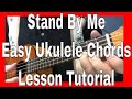 Stand By Me Easy Ukulele Chords Lesson Tutorial mp3