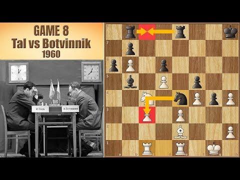 The Gloves Are Off | Tal vs Botvinnik 1960. | Game 8