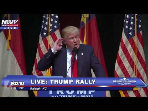 FULL: Donald Trump Rally - - Raleigh, North Carolina