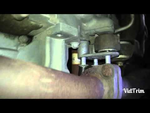 Ford fusion v6 rear engine mount removal and replacement w ...