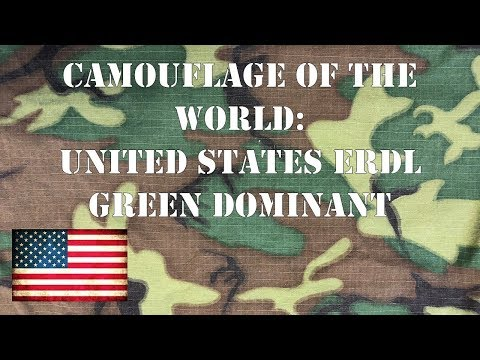 Camouflage Of The World: U.S. ERDL Green Dominant Jungle Fatigues