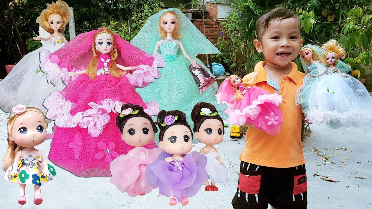Trò Chơi Bé Vui Búp Bê Công Chúa ❤ ChiChi ToysReview TV ❤ Đồ Chơi Trẻ Em  Baby Fun - YouTube
