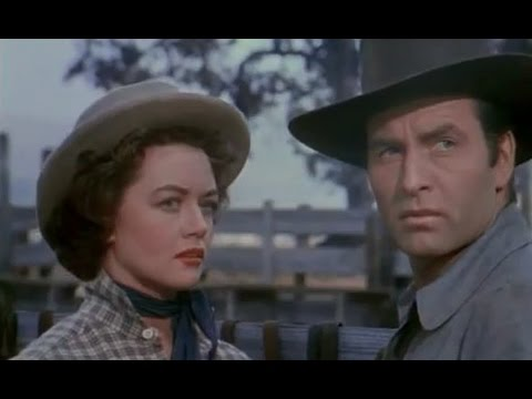 George Montgomery, Dorothy Malone, Frank Faylen,  Romance, Western . Movei 1954