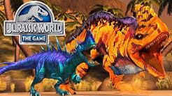 Jurassic World: Das Spiel #35 - RAJASTEGA'S AUFTRITT  & der STUFE 40 MONOLOPHOSAURUS   LP JW Deutsch