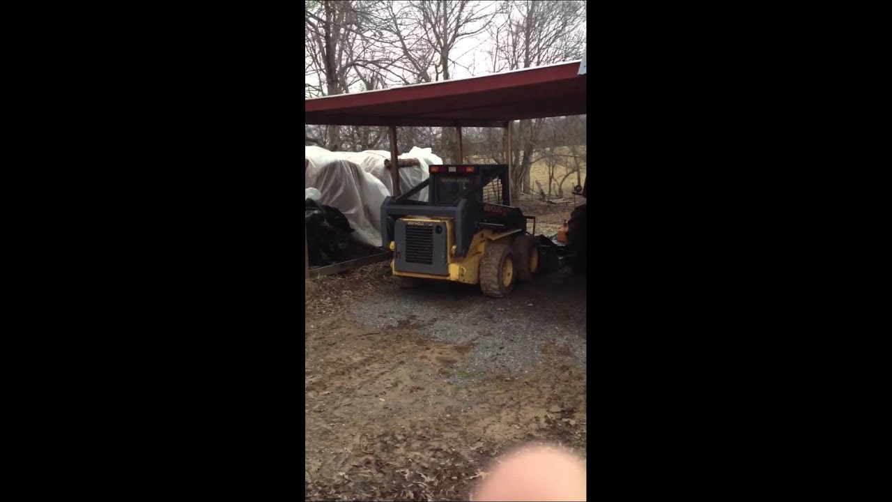 small resolution of 2001 new holland ls180 skid steer