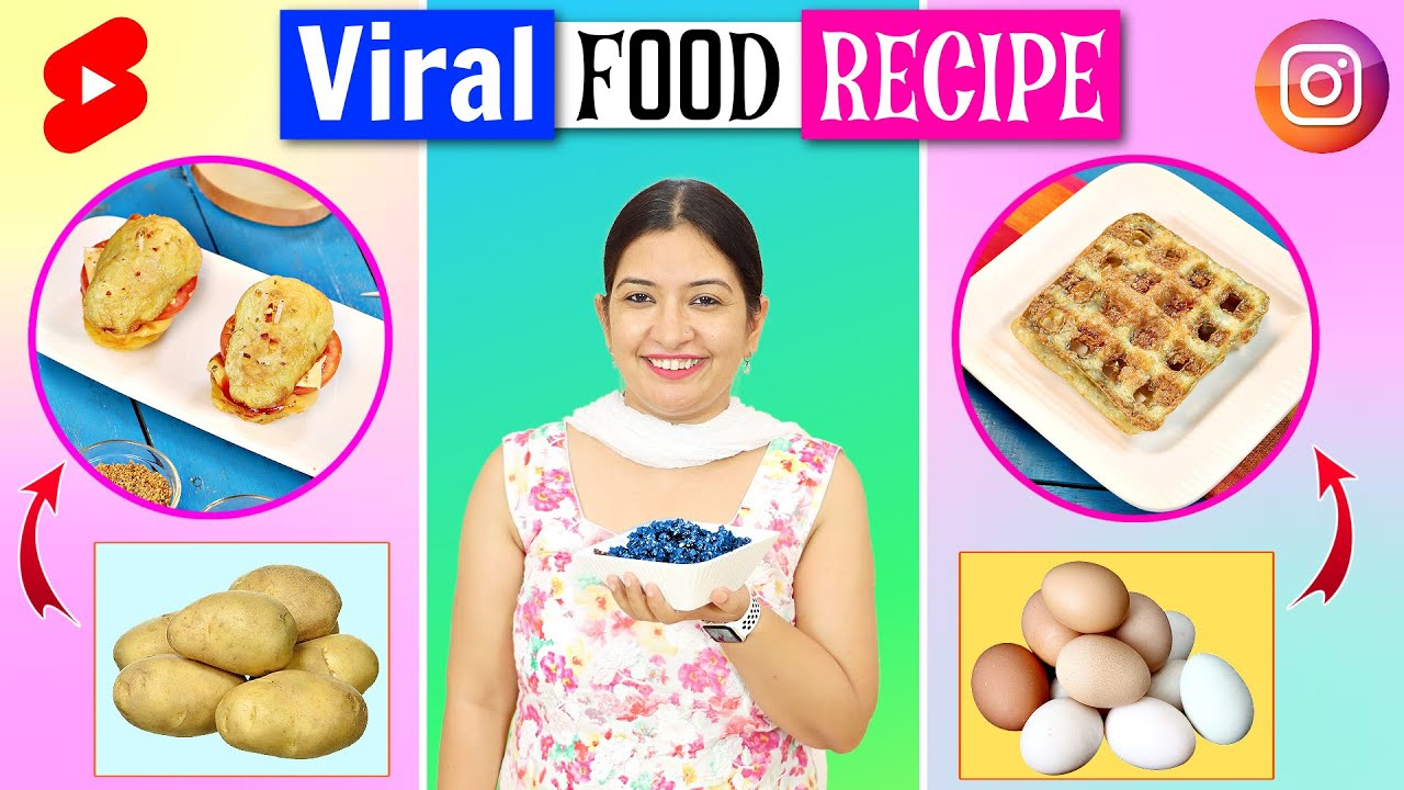 Tested VIRAL FOOD To See If They Works | CookWithNisha