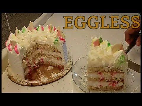 EGGLESS Vanilla Cake RECIPE   EGGLESS White Forest Cake RECIPE   EGGLESS Vanilla Sponge Cake RECIPE