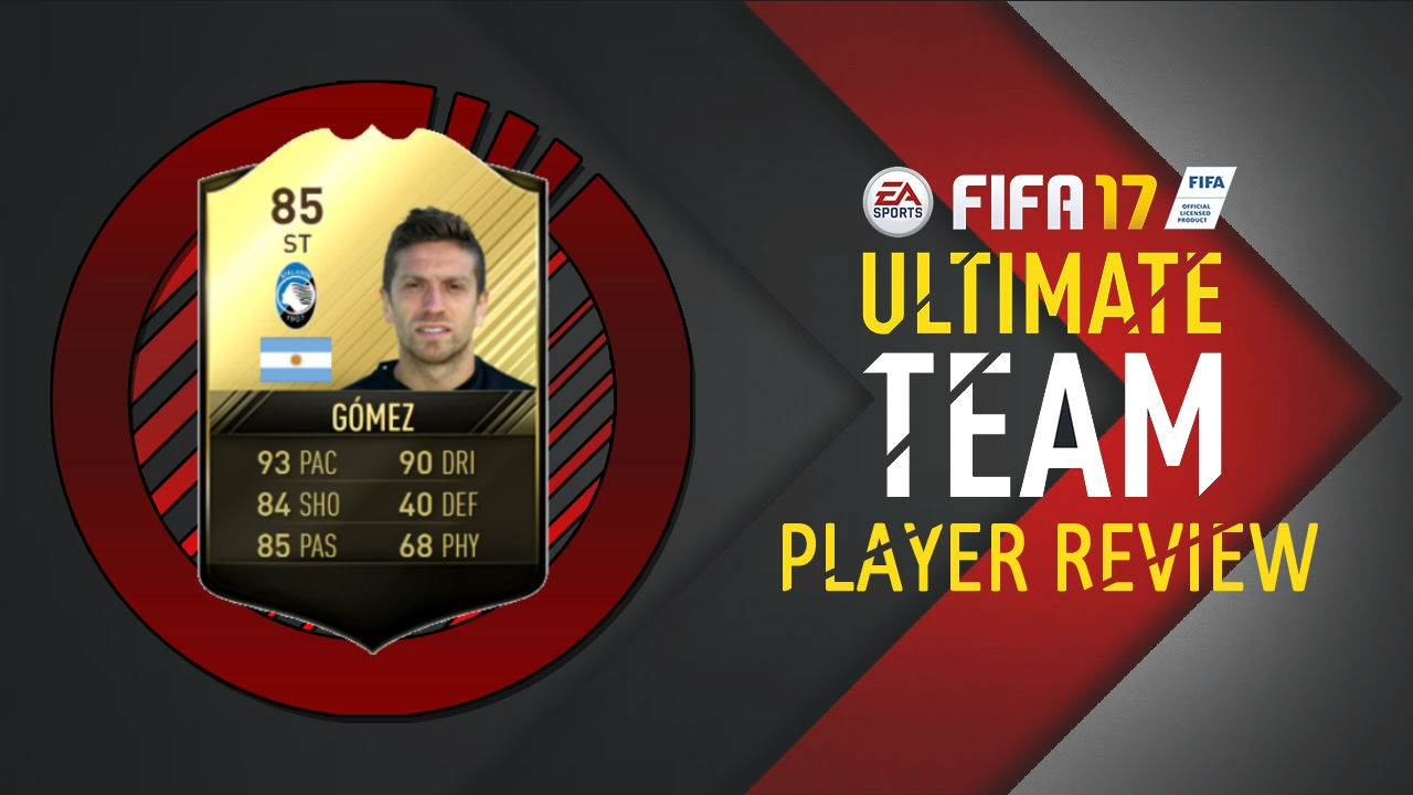 FIFA 17 SECOND INFORM ALEJANDRO GOMEZ (85) PLAYER REVIEW! FIFA 17 Ultimate Team | SIF Gomez