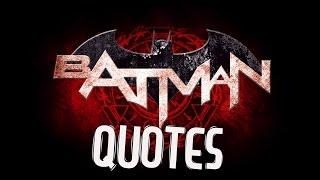 JUSTICE LEAGUE DARK Batman Quotes