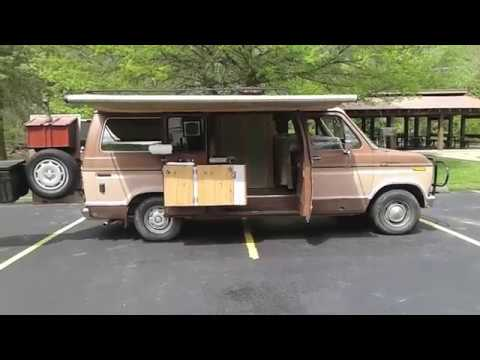 """Updated Tour of My Homemade Camper Van""""Buster"""""""