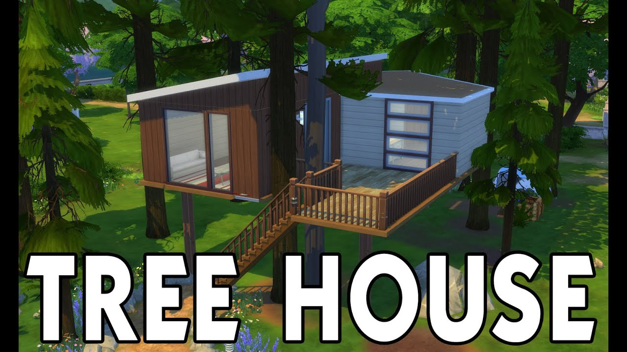 the sims houses treehouse casa del rbol
