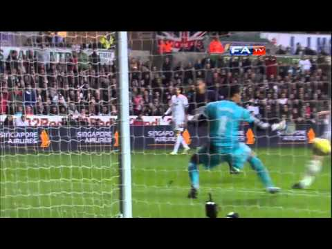 Swansea 2-2 Arsenal - Gibbs stunning volley & full highlights - FA Cup 3rd Round | FATV