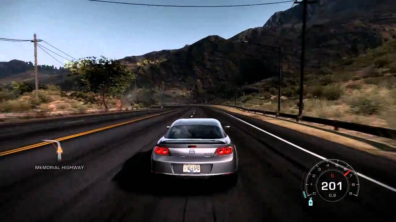 nfs11 - need for speed hot pursuit 2010 - mazda rx8 tribute video hd