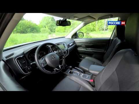 Тест драйв обновленного Mitsubishi Outlander 2015 АвтоВести 216