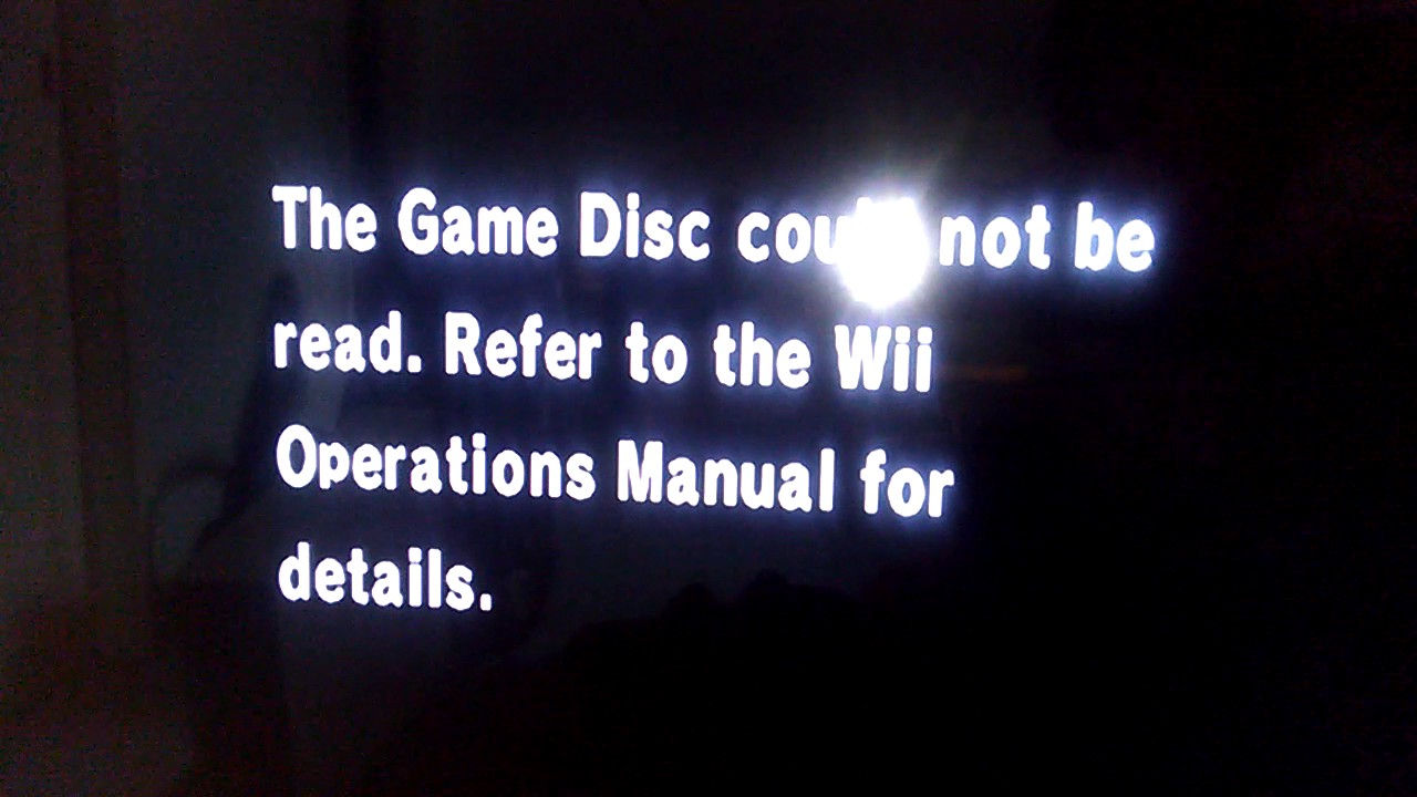 mario kart wii game disc problem youtube rh youtube com Wii Operations Manual Checking Turn Off Wii Console Error