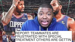LA Clippers Reportedly Upset At KawhI & Paul George Special Treatment! | FERRO REACTS SPORTS