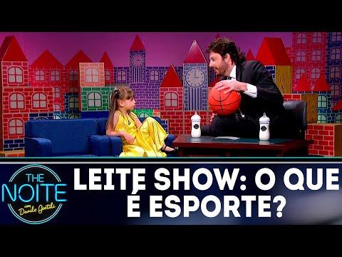 Leite Show: O que é esporte? | The Noite (16/07/18)