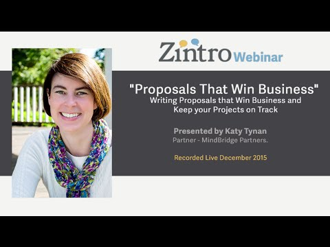 """Proposals That Win Business"""