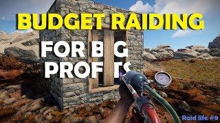 Budget Raiding For Big Profits - RaidLife #9