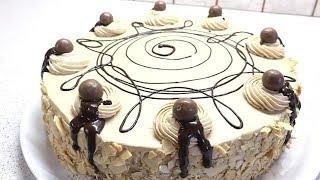 ????ШИФОНОВЫЙ КОФЕЙНЫЙ БИСКВИТ И КОФЕЙНЫЙ ТОРТ МОККО | Mocha Cake Recipe | КУЛИНАРИЯ С ЛЮБОВЬЮ