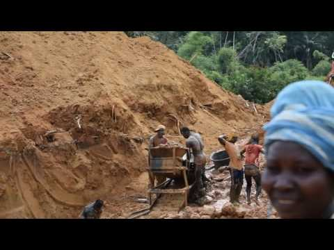 Gold Mines in Ghana...