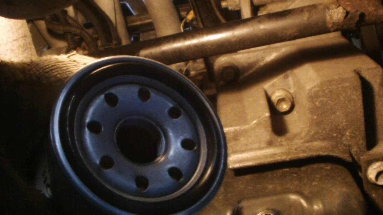 NISSAN OIL FILTER REMOVAL - YouTube