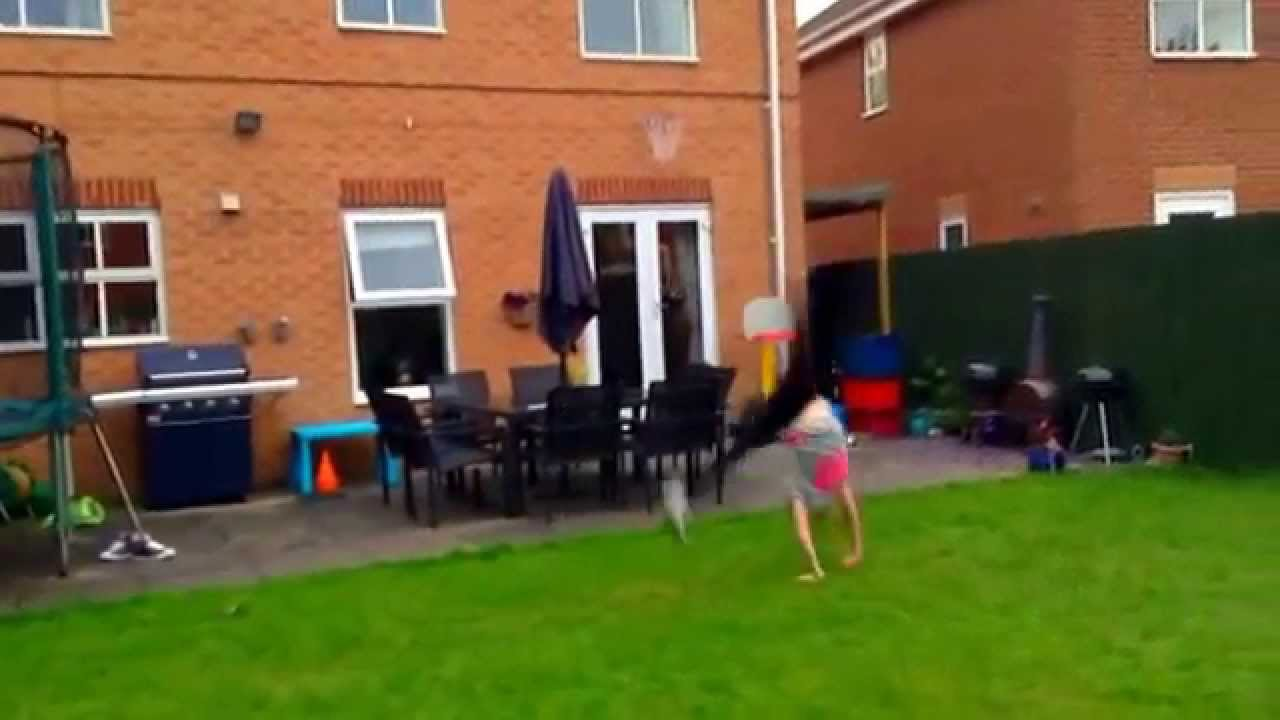 Katherines Seven Gymnastics Girls Audition - YouTube
